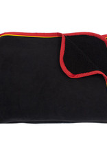 HORSEWARE IRELAND RAMBO SOFTY THROW - BLACK