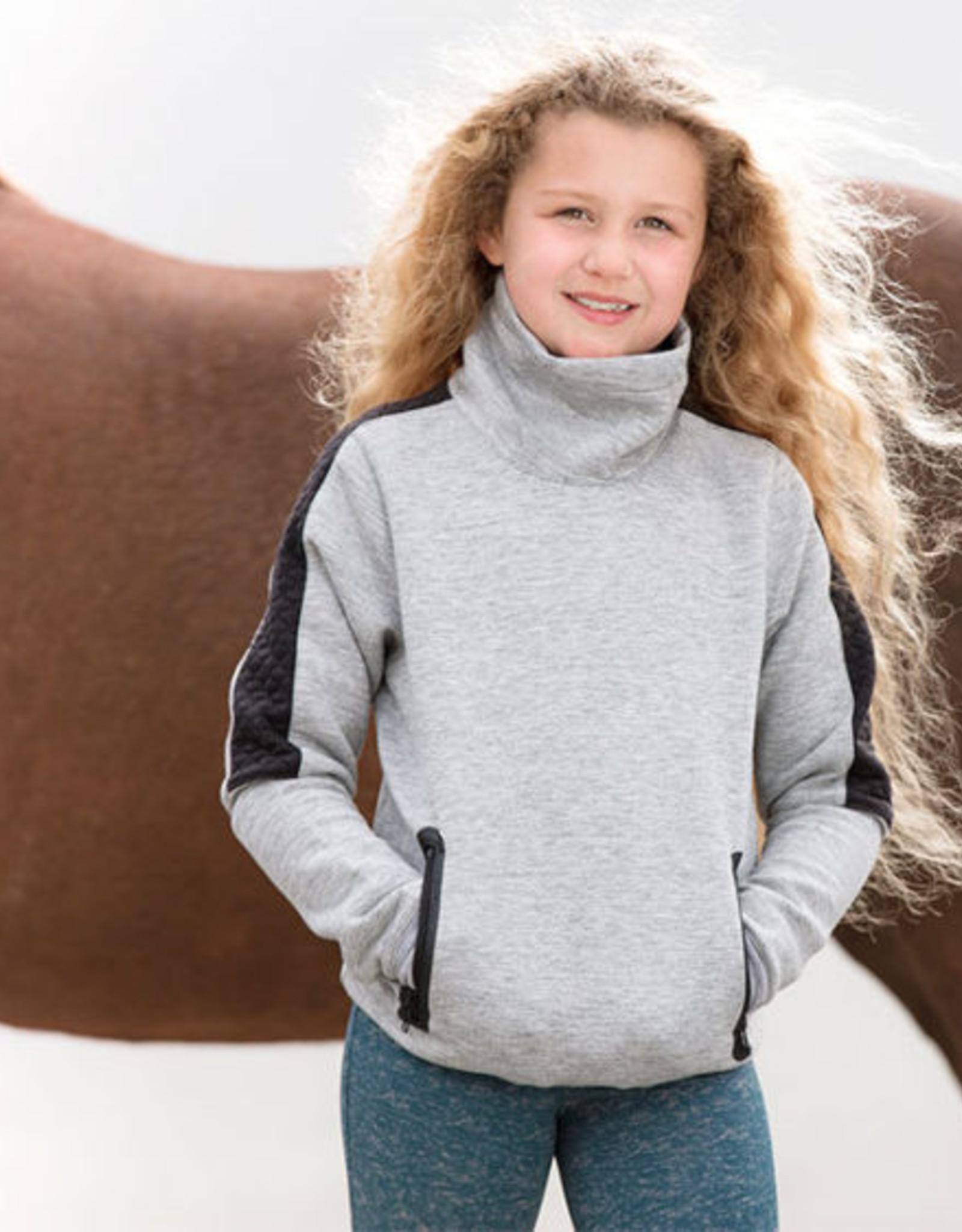 HORSEWARE IRELAND KIDS TECH LUXE MIDLAYER