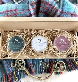 BOXED SET OF HOLIDAY TINS