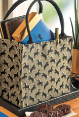 DARK HORSE CHOCOLATE EQUESTRIAN TOTE WITH 8 PIECE DHC ASSORTMENT