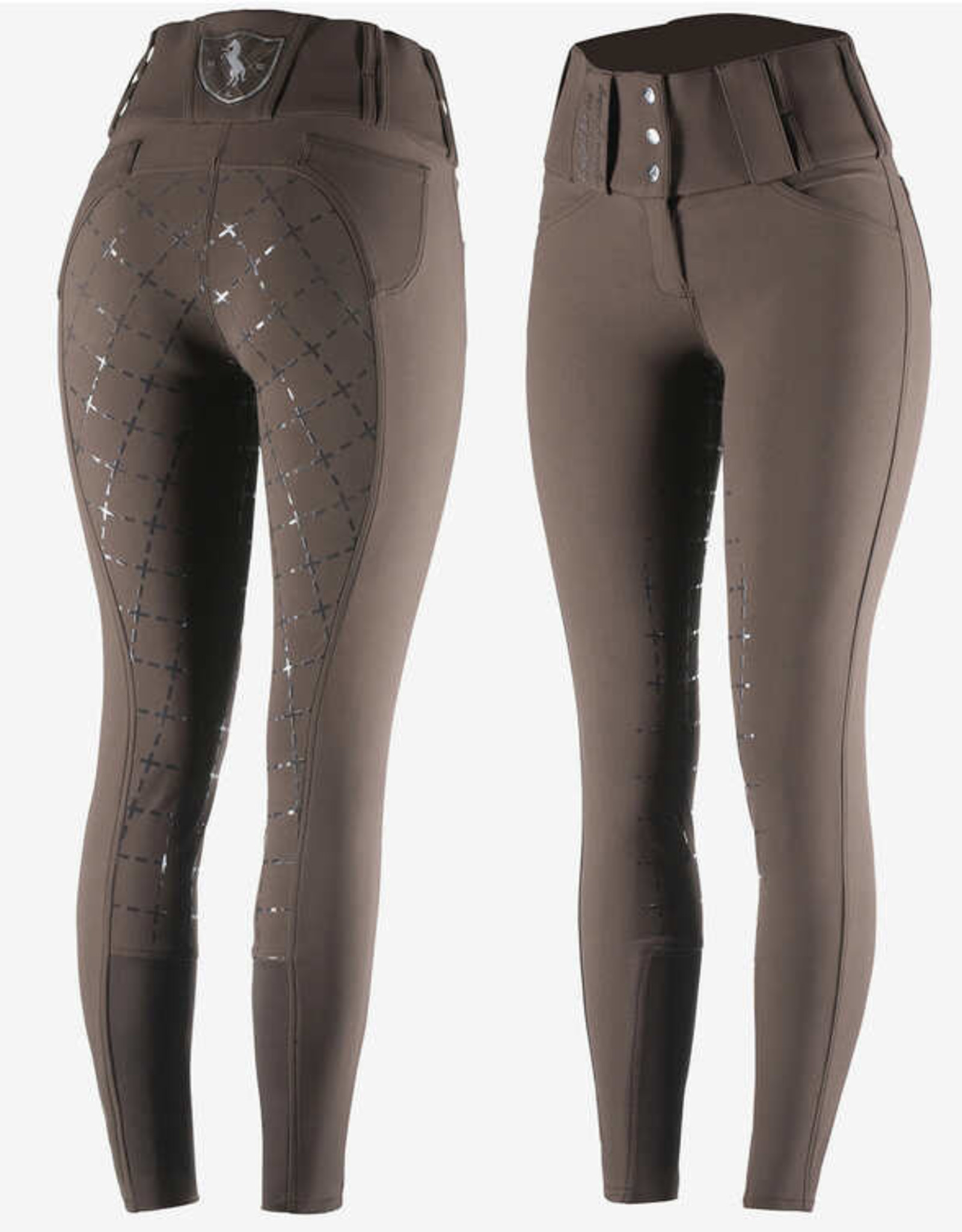 HORZE DESIREE SILICONE FULL SEAT BREECHES