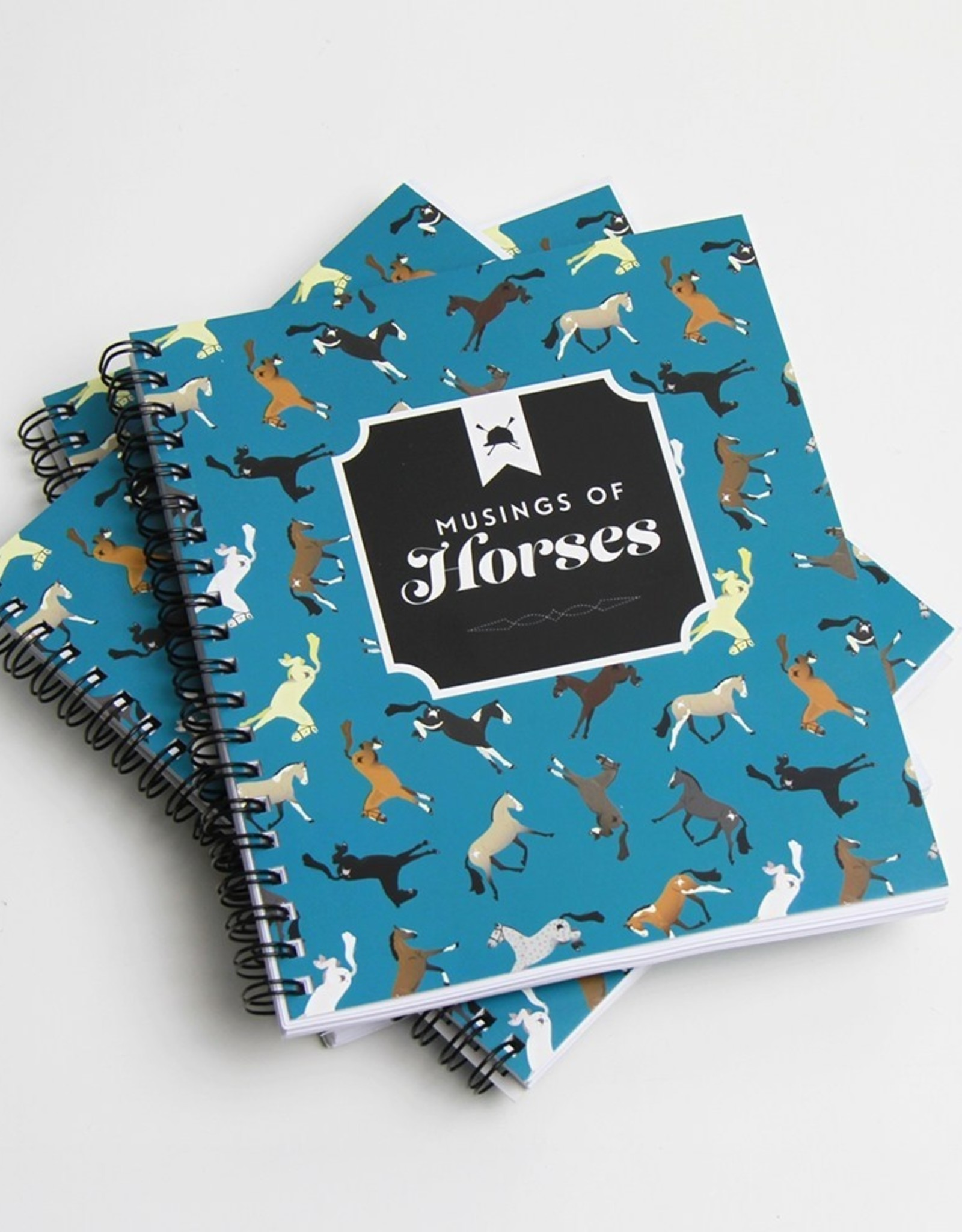 HUNTSEAT PAPER CO. MUSINGS OF HORSES NOTEBOOK