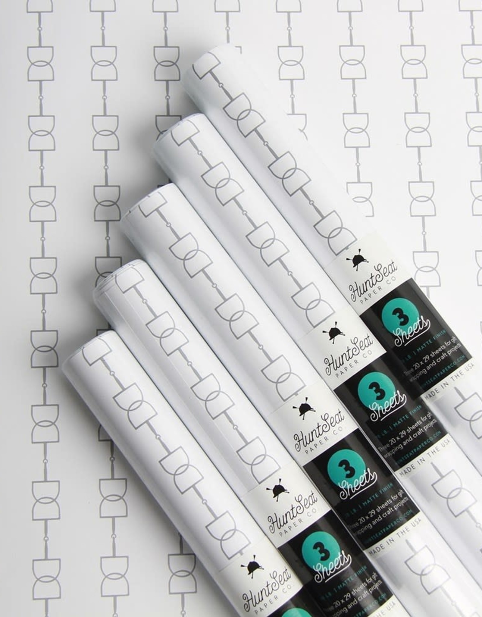 HUNTSEAT PAPER CO. GIFT WRAPPING PAPER
