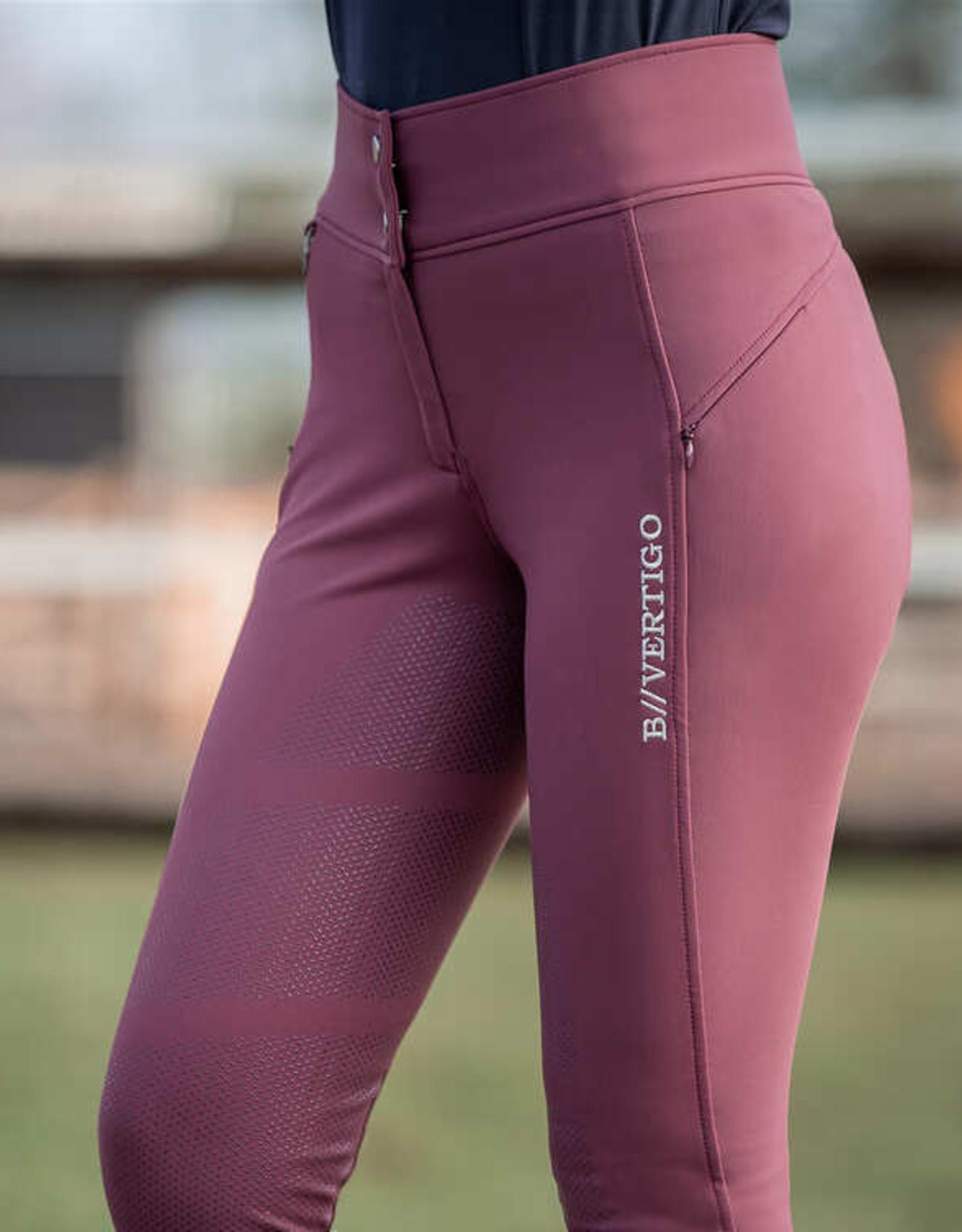 B VERTIGO Justine Women's Thermo Silicone Full Seat Breeches
