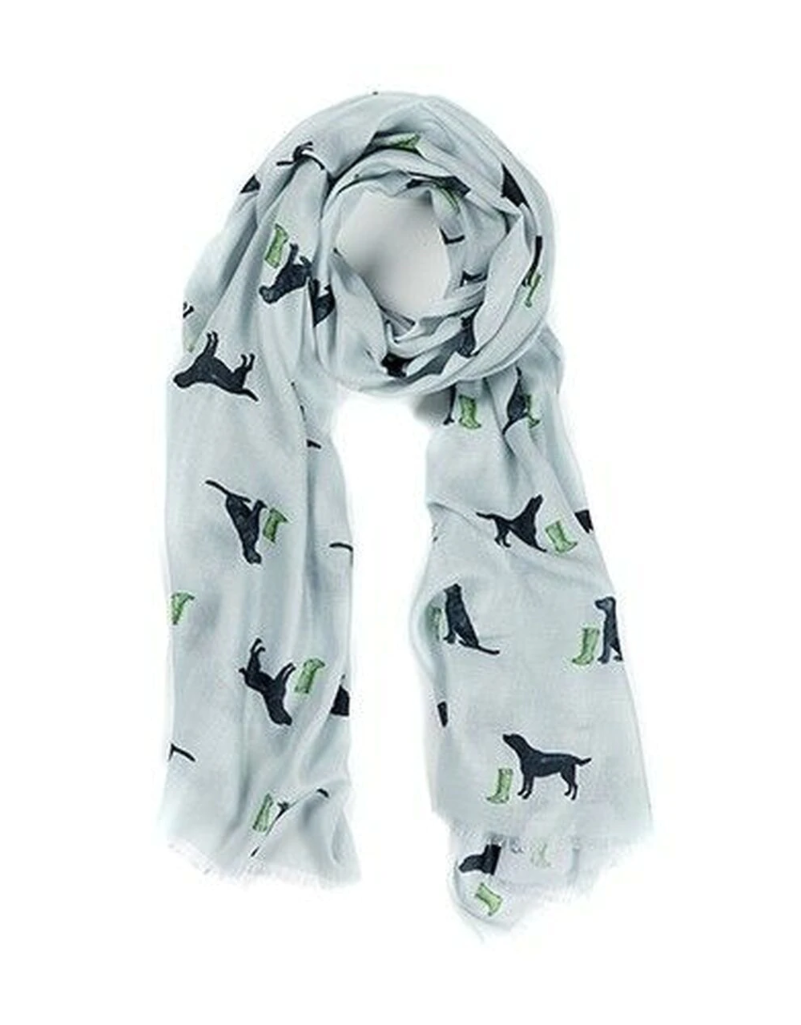 AT HOME IN THE COUNTRY LIGHTWEIGHT SCARF