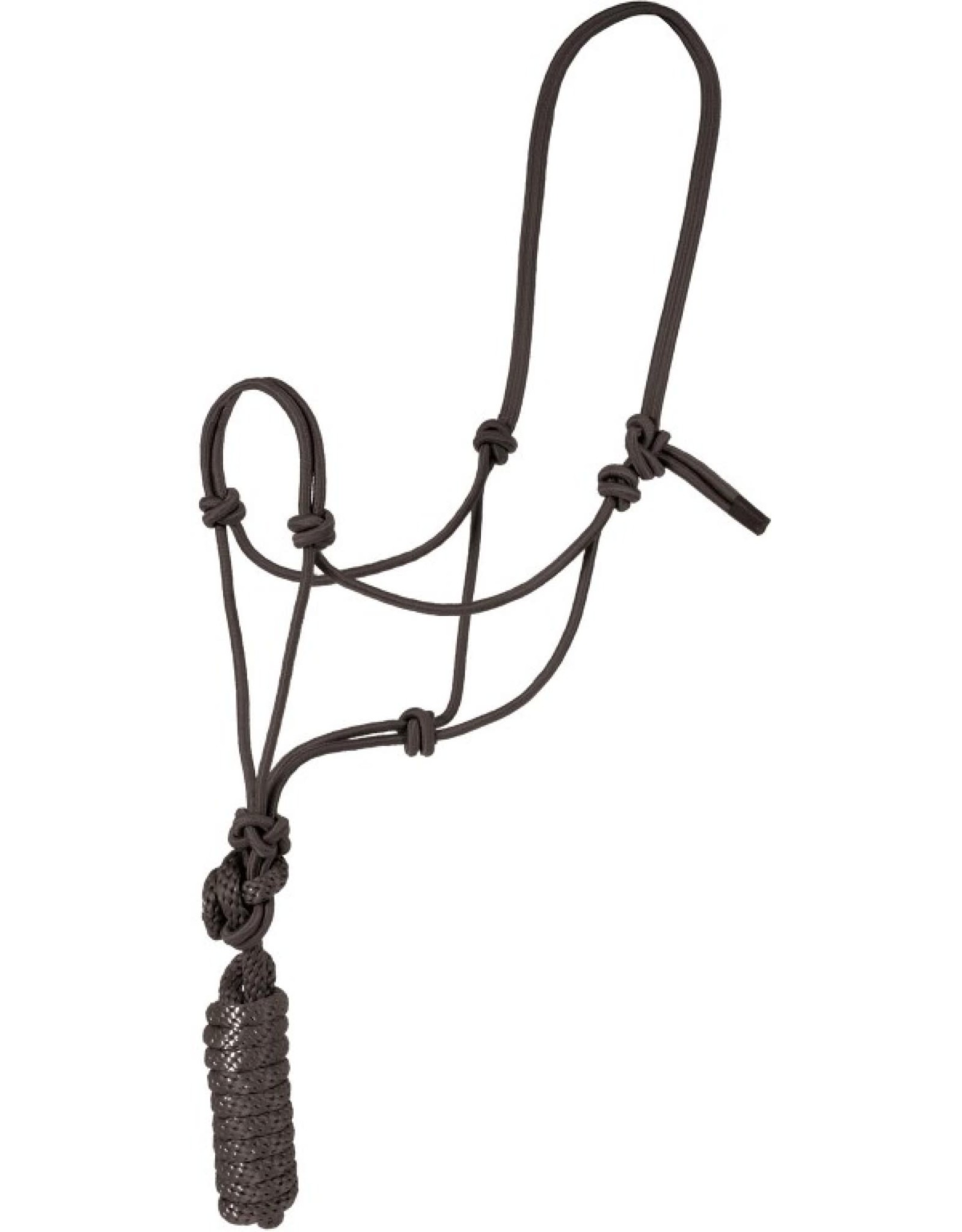 MUSTANG  MOUNTAIN ROPE HALTER WITH LEAD