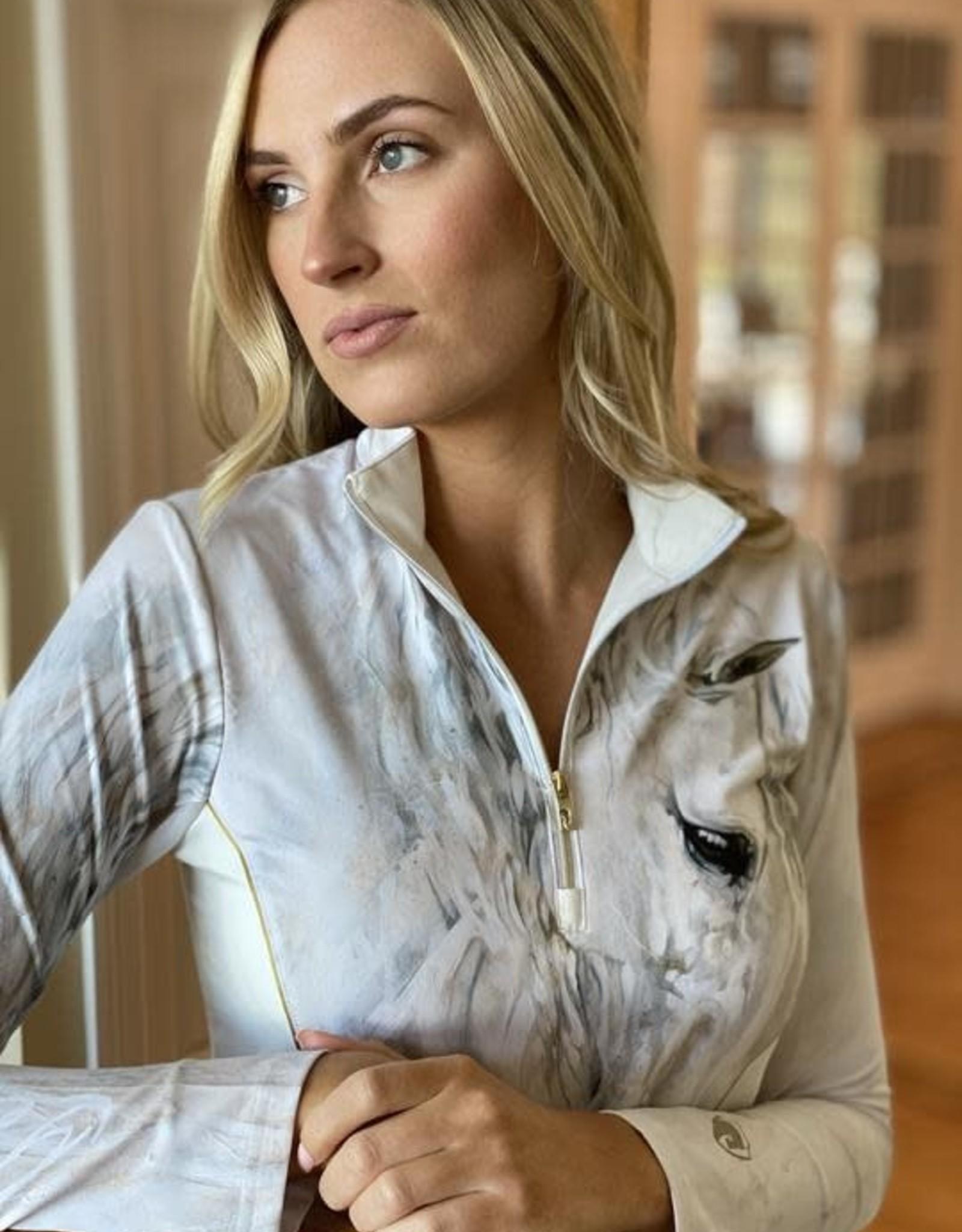 ARISTA Elise Genest 'Neverending' Quarter Zip w/Mesh