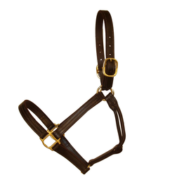 CAN-PRO TRIPLE STITCHED LEATHER HALTER