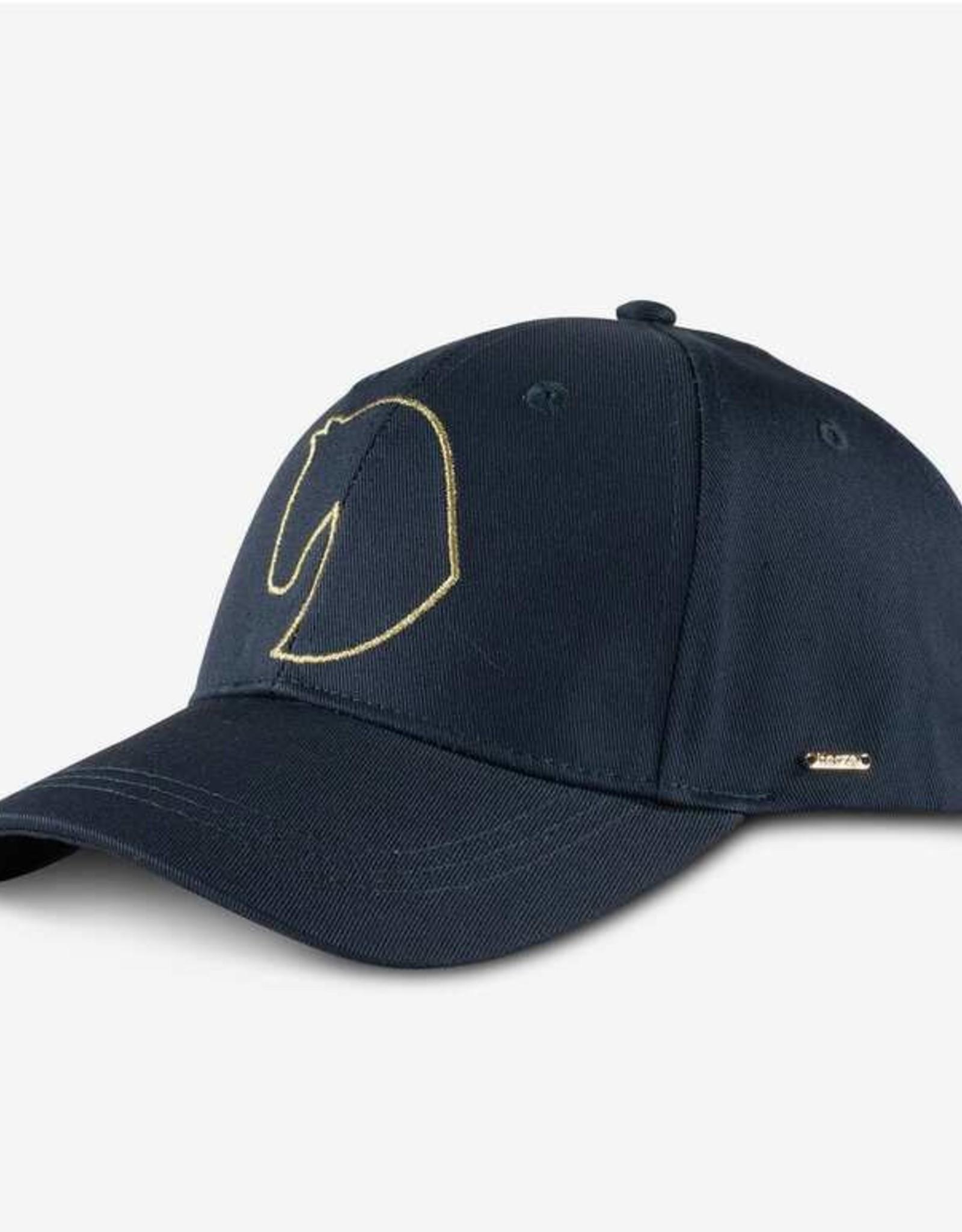 HORZE GOLD DETAIL HAT