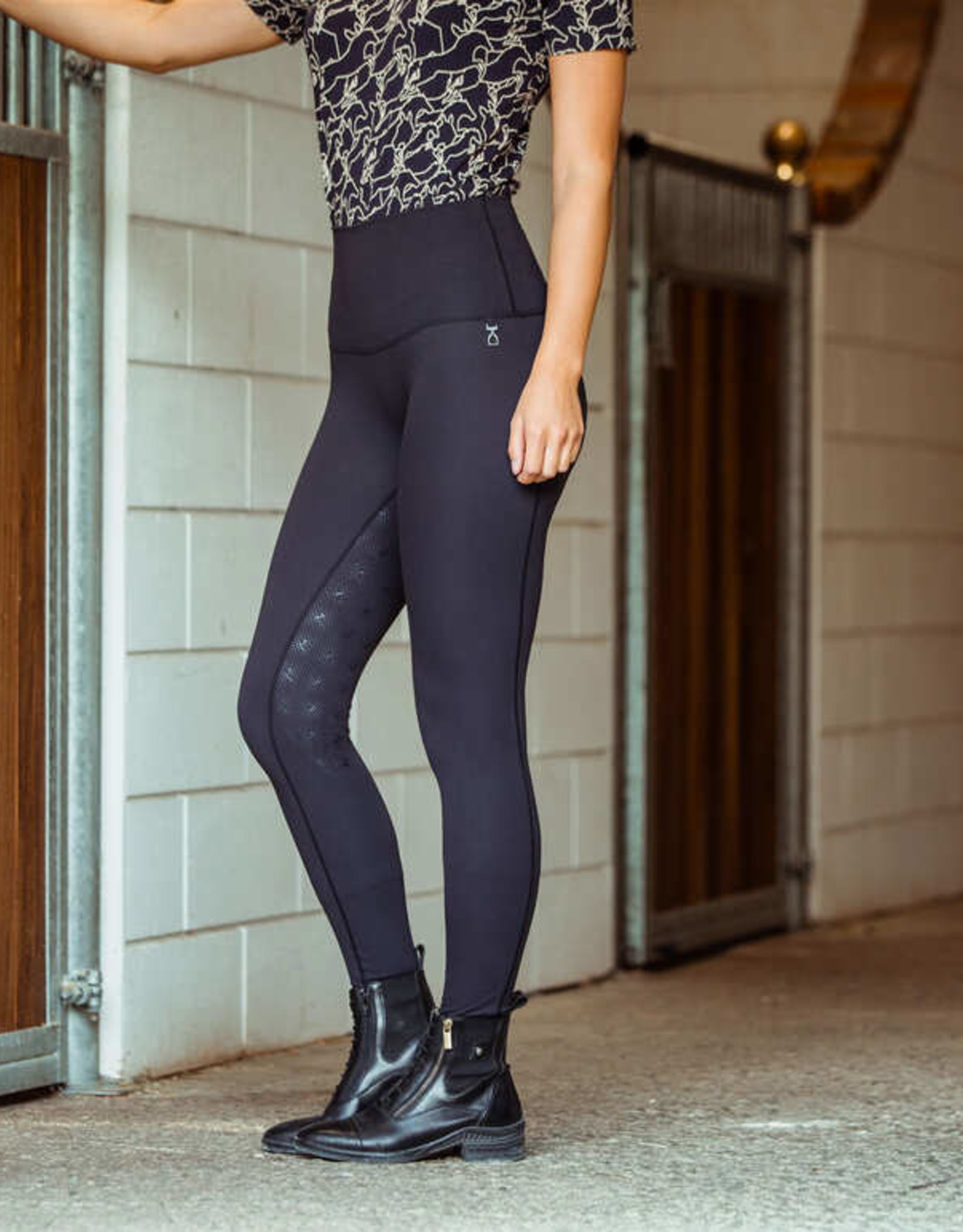 HORZE JULIENNE FULL SEAT COMPRESSION TIGHTS