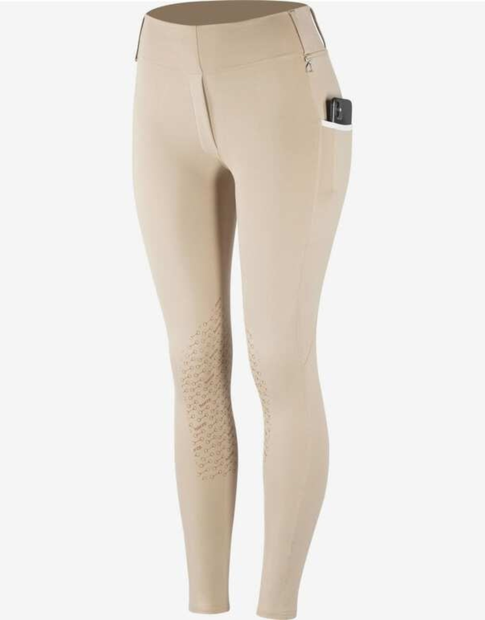 HORZE LUCINDA HIGH WAIST SILICONE KNEE PATCH  TIGHT