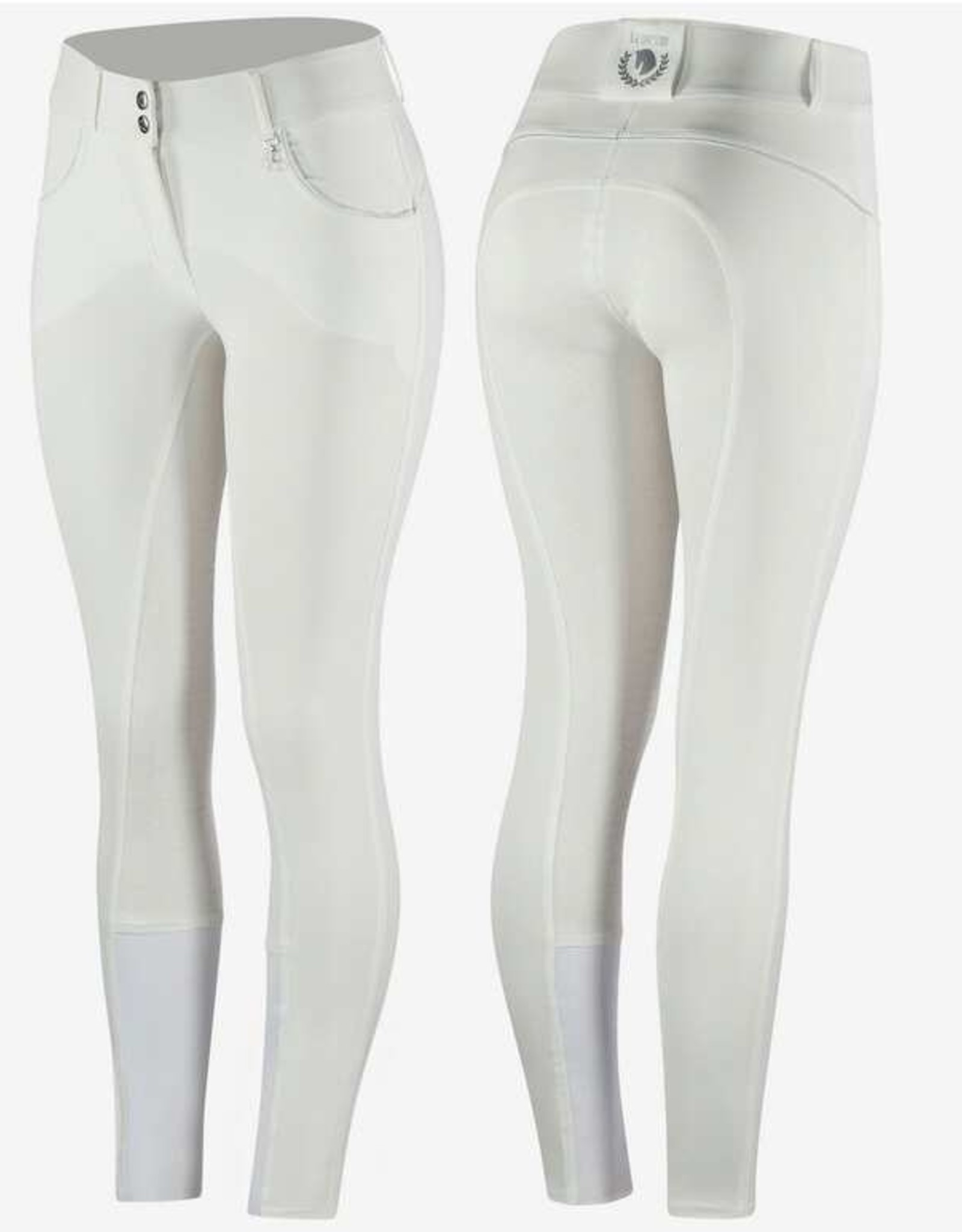 HORZE AUBREY HIGH WAIST SILICONE FULL SEAT BREECHES