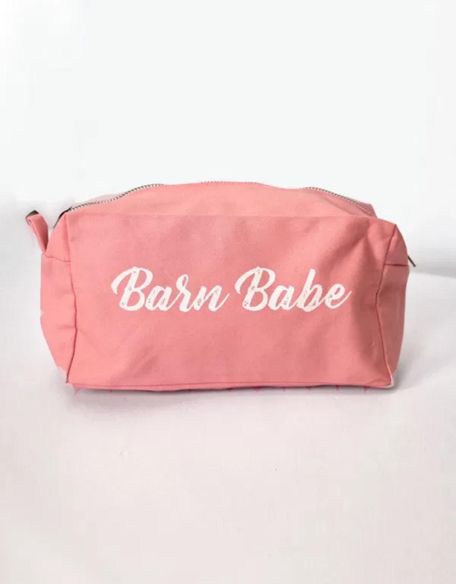 SPICED BARN BABE MAKEUP BAG