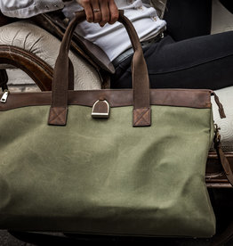 OAKBARK & CHROME WEEKENDER BAG