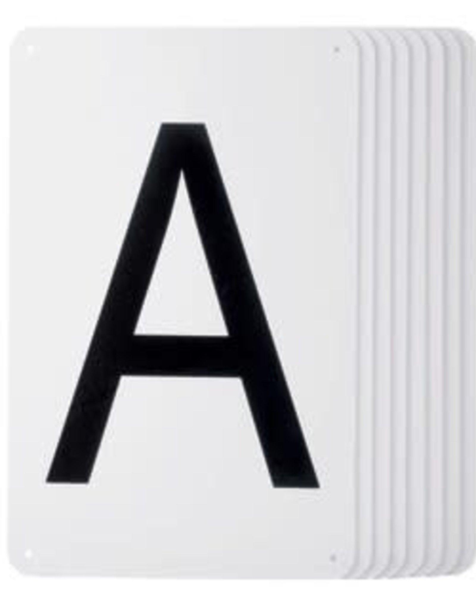 Plastic Dressage Letters - Set of 8