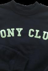 GRAY & BAY HORSE CO. KIDS PONY CLUB CREW SWEATER