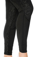 HORSEWARE IRELAND MONOGRAM RIDING TIGHTS - SILICON