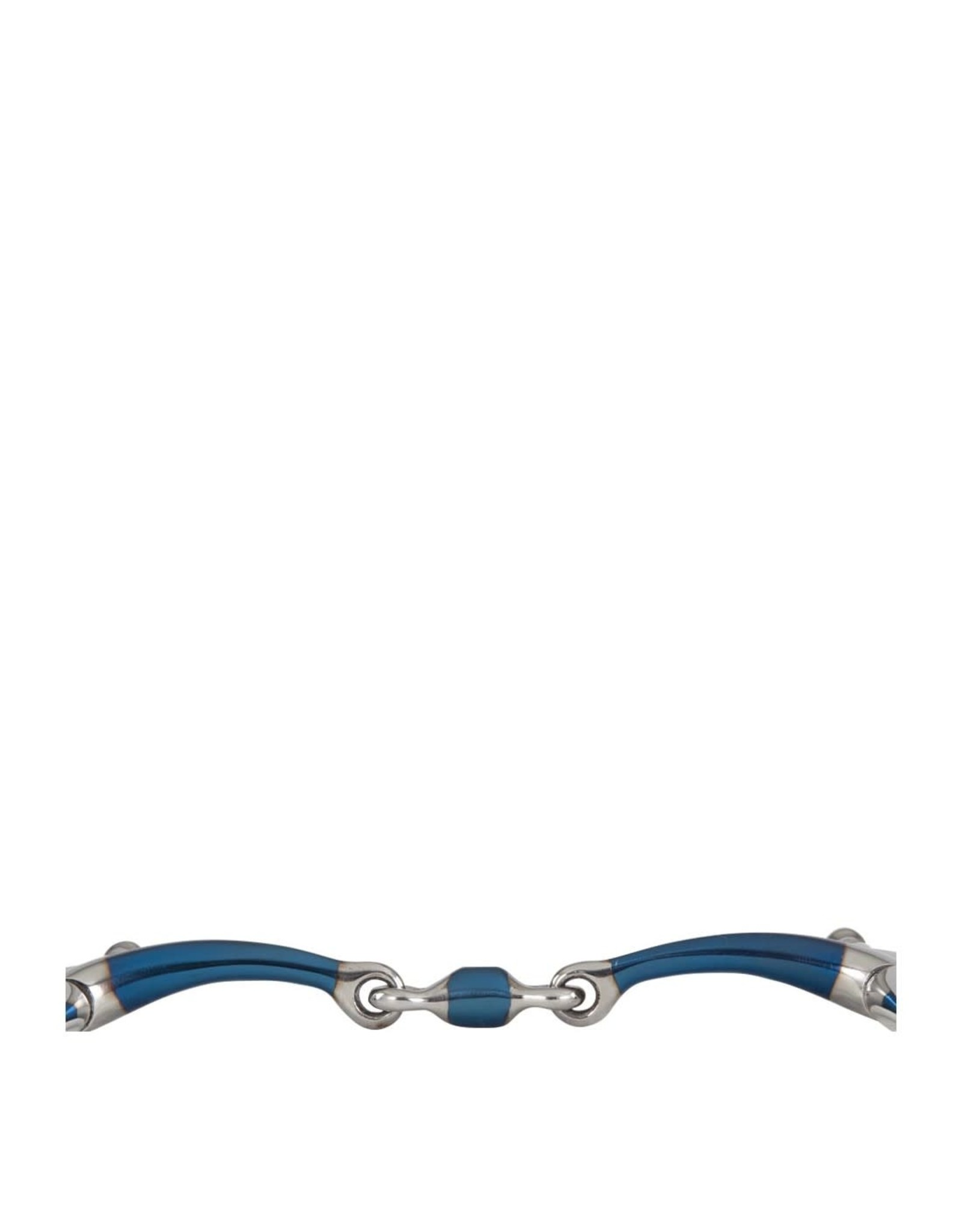 BR FULL CHEEK SWEET IRON DOUBLE JOINTED BIT 14MM