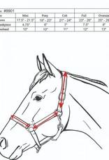 CANADIAN HORSEWEAR ADJUSTABLE NYLON HALTER