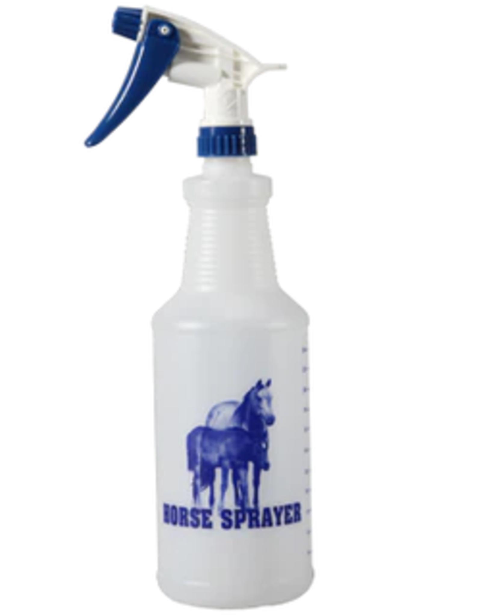 SPRAY BOTTLE - 32OZ - WHITE/BLUE