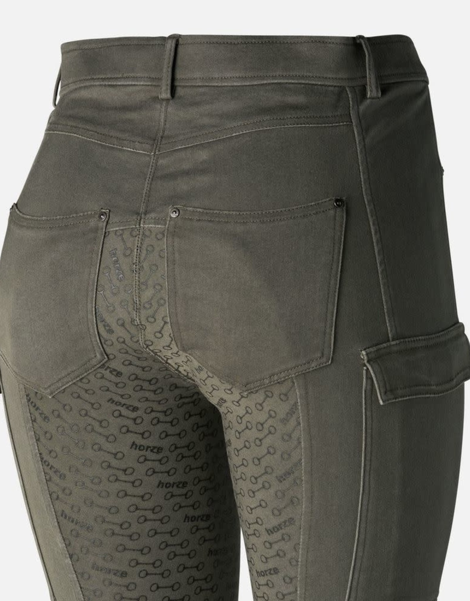 HORZE LIMITED EDITION IVY FULL SEAT CARGO BREECHES