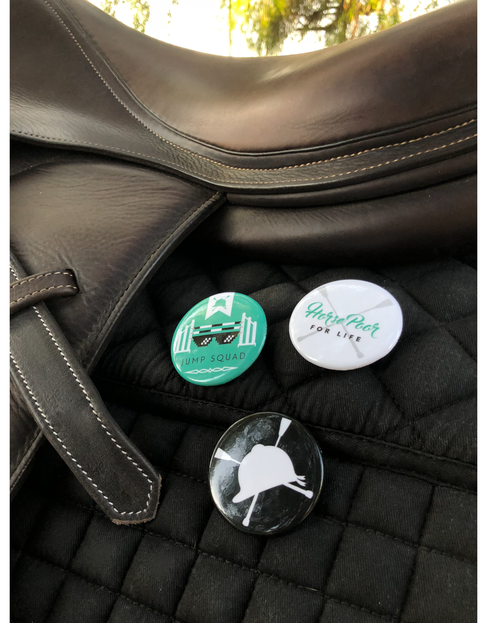 HUNTSEAT PAPER CO. BUTTON PACK FOR RAD EQUESTRIANS