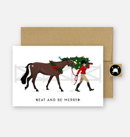 HUNTSEAT PAPER CO. HOLIDAY GREETING CARD - SINGLE