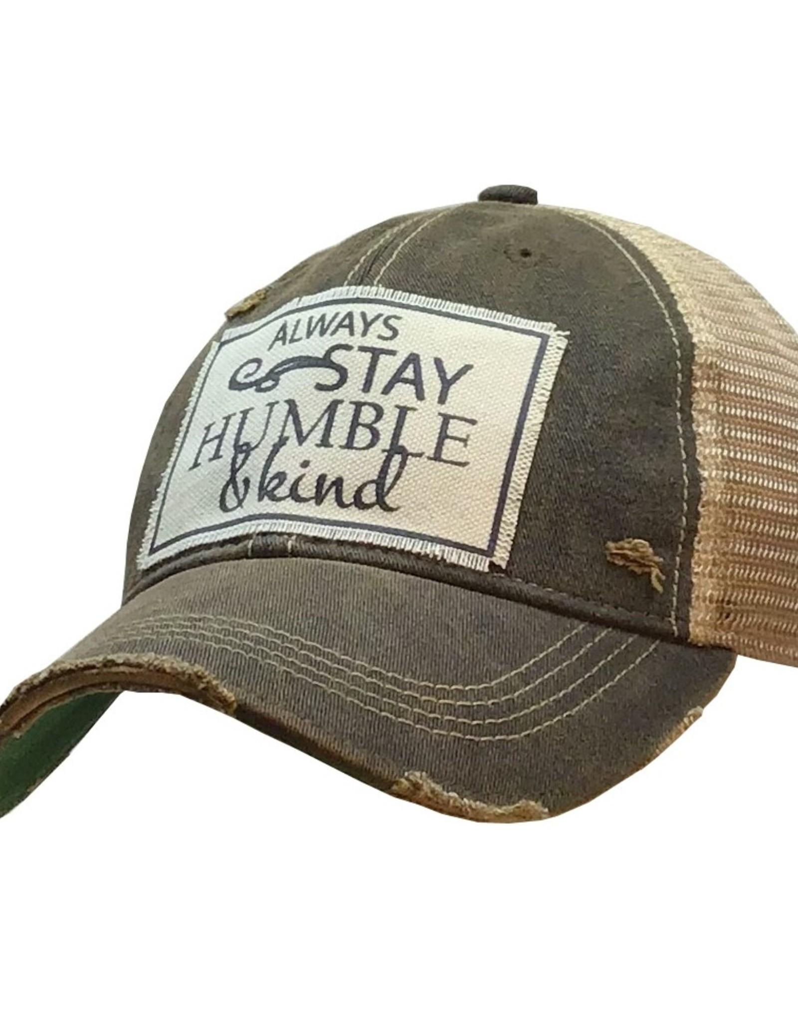 VINTAGE LIFE DISTRESSED TRUCKER CAP