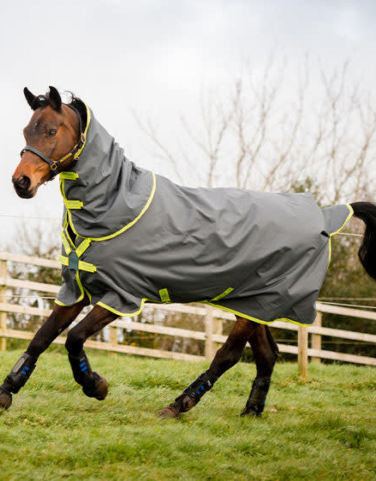 HORSEWARE IRELAND AMIGO HERO 900 PLUS TURNOUT – Disc Front Closure (100g Lite)