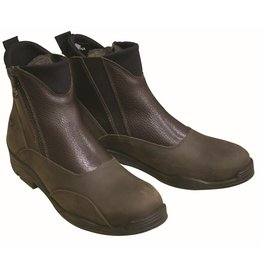 PARAGON PLATINUM FORRES LADIES LEATHER SIDE ZIP WINTER PADDOCK BOOT