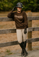 GRAY & BAY HORSE CO. EQUESTRIAN SWEATSHIRT