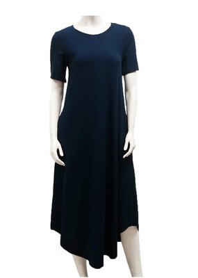 Gilmour Clothing Bamboo T-Shirt Maxi Dress
