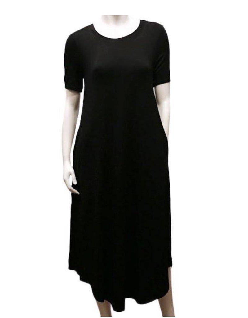 Gilmour Clothing Bamboo T-Shirt Maxi Dress