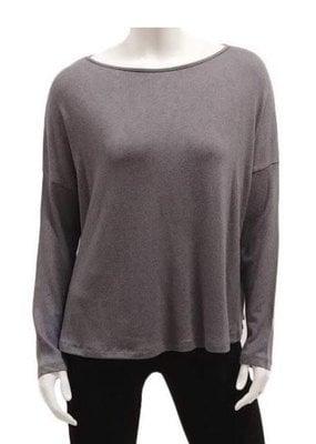 Gilmour Clothing Modal Knit Drop Shoulder Top