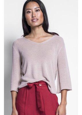 Pink Martini 3/4 Sleeve Sweater