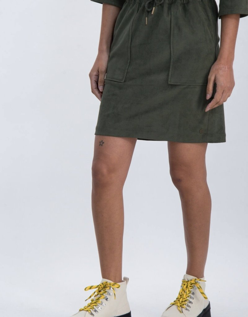 Garcia Soft Olive Skirt