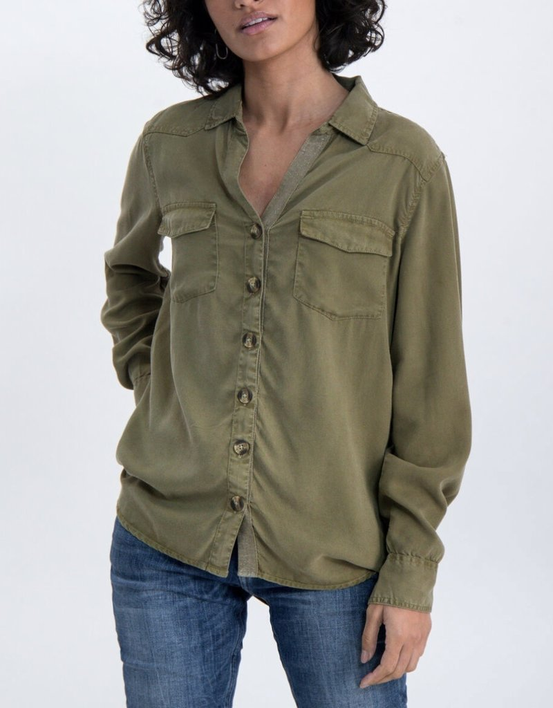 Garcia Khaki Light Shirt