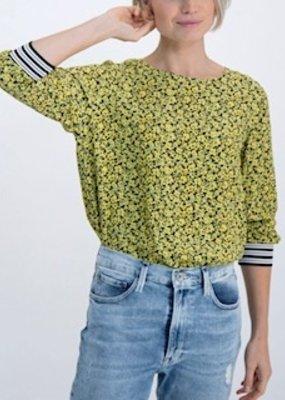 Garcia Floral Trim Top