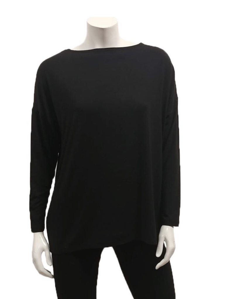Gilmour Clothing Bamboo Drop Shoulder Top