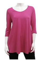Gilmour Clothing 3/4 Slv Bamboo Tunic