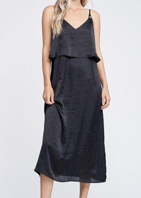 Misc Satin Maxi Dress