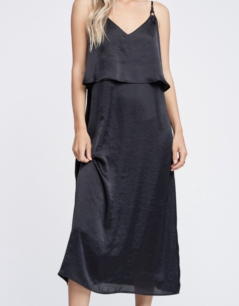 Misc Satin Maxi Dress