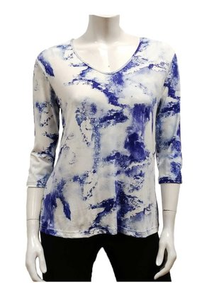 Gilmour Clothing Rayon Tye Top