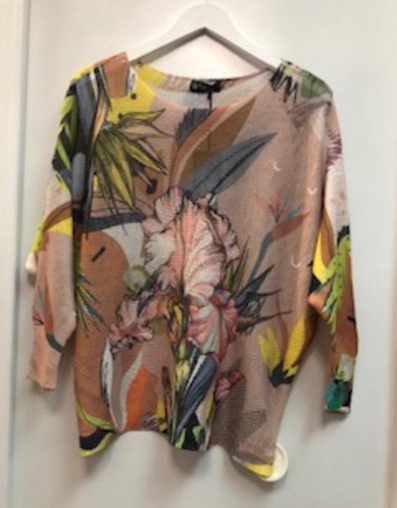 Bella Amore Printed Floral Knit