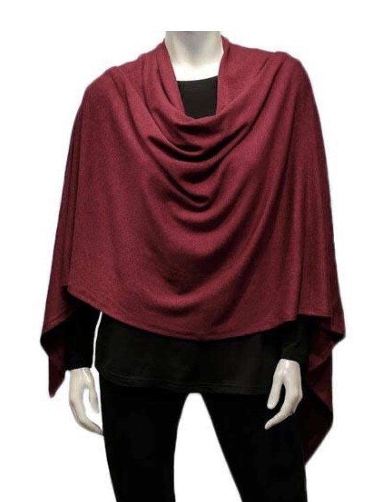 Gilmour Clothing Modal Poncho
