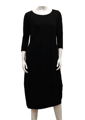 Gilmour Clothing Bamboo Side Pleat Dress