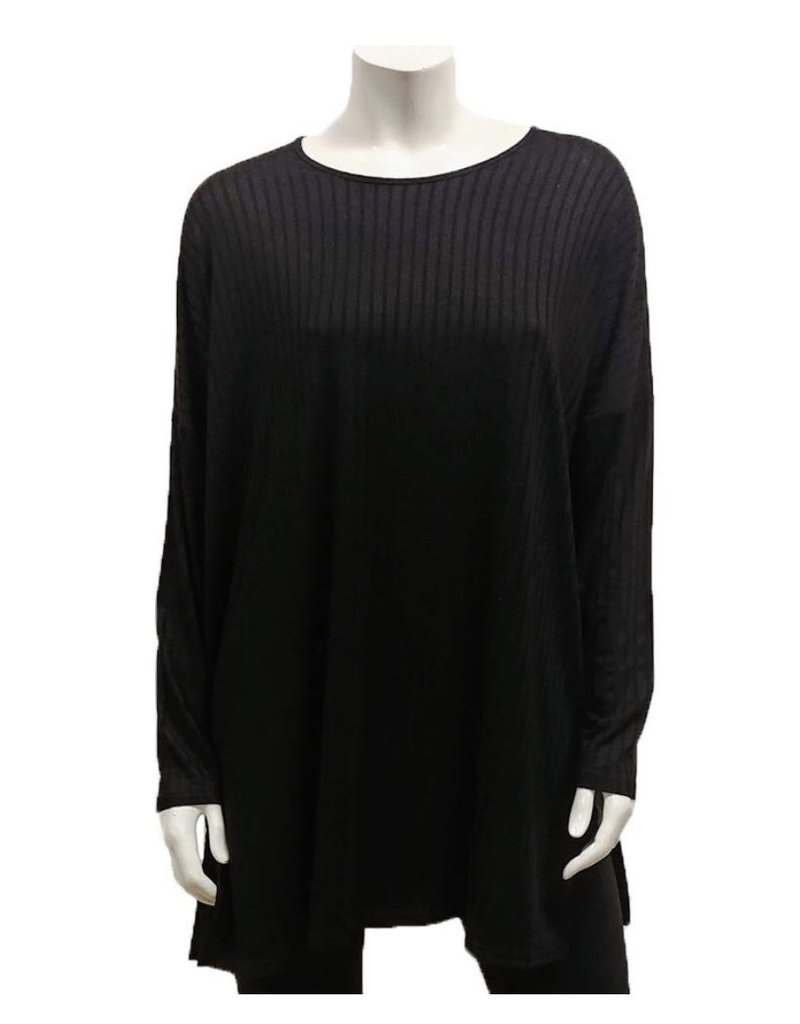 Gilmour Clothing Rayon Rib Knit Tunic