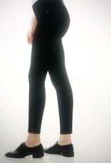 Yoga Jeans Jet Black Skinny Zip