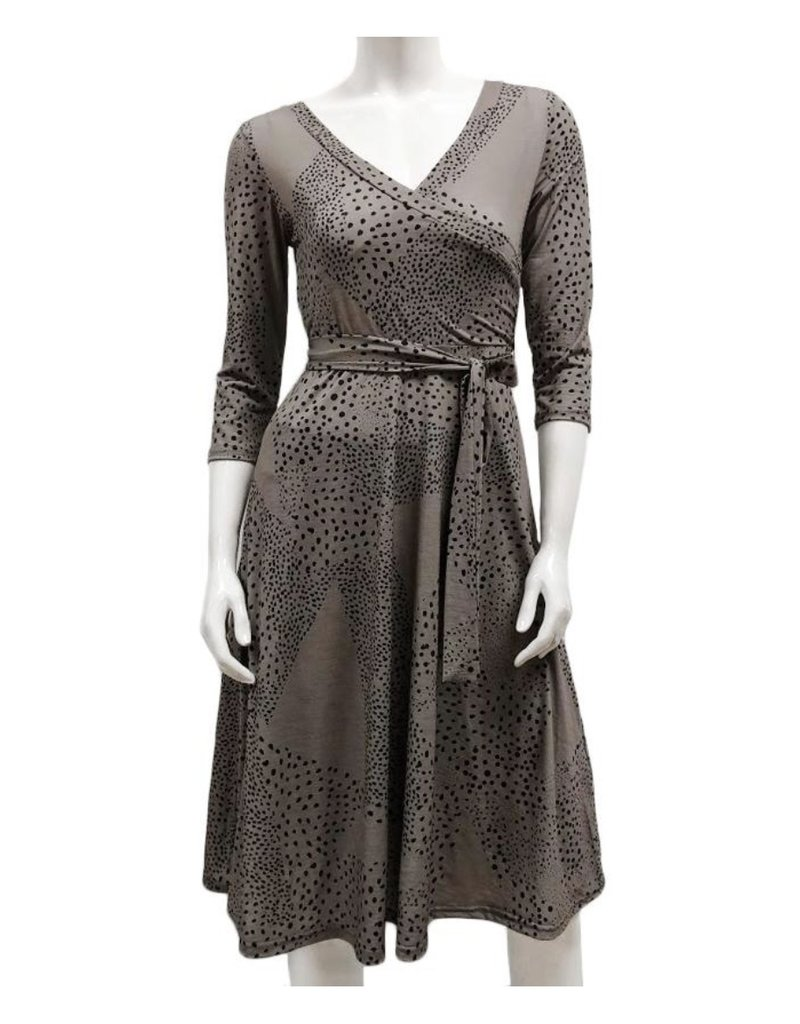 Gilmour Clothing Faux Wrap Dress