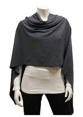 Gilmour Clothing Modal Poncho